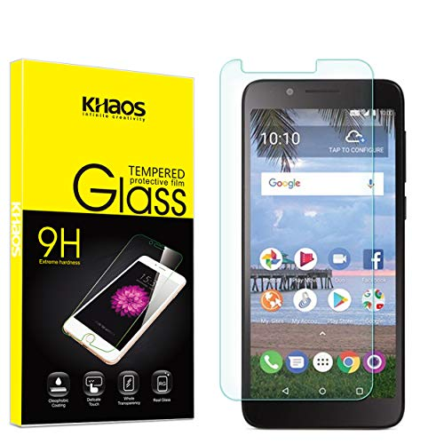Lcd Protective Glass - Protective Screen Guard for Alcatel TCL LX A502DL, KHAOS Tempered Glass LCD Screen Protector for Alcatel TCL LX