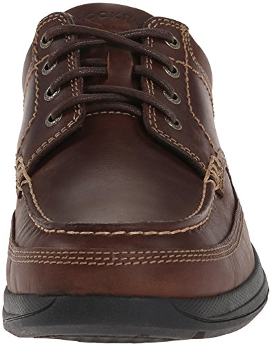 Uomo Banni Moc-Toe Dark Tan, 9.5 W US