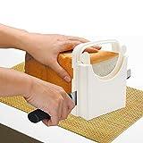 Bread Slicer Adjustable Bread/Roast/loaf Slicer Cutter, Bread Cutting Toast Bagel Loaf Slicer Cutter Mold Sandwich Maker Toast Slicing Machine Folding and Adjustable Handed Bread M