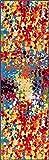 Well Woven Impasto Multi Color Geometric Brush