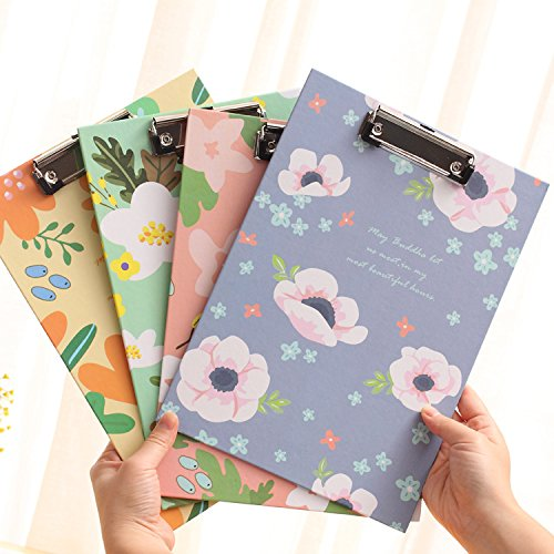 4 Pk, Clipboards & Forms Holders Standard Size (A4) By cnokfan