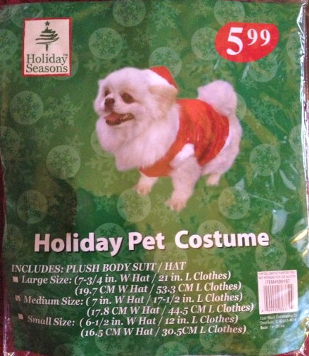 Holiday Pet Costume (Christmas)