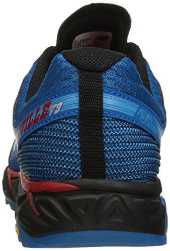 New Balance Men's Leadville Vibram Trail Running Shoe, Blue/Black, 9 4E UK