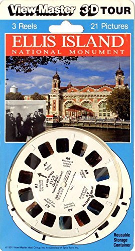 ViewMaster ELLIS ISLAND- 3 Reel Set - Classic 3D Images 1970s by 3Dstereo ViewMaster