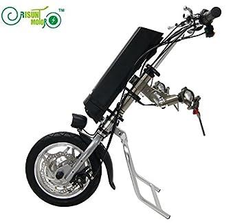 36V 250W de accionamiento silla de ruedas eléctrica kit kits de conversión de bricolaje con 36V 9AH Li-ion: Amazon.es: Deportes y aire libre