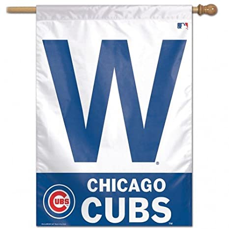 85e2e2269aa Image Unavailable. Image not available for. Color  MLB Chicago Cubs  Vertical Flag-W ...