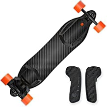MightySkins Protective Vinyl Skin Decal for Boosted Board wrap cover sticker skins Carbon Fiber