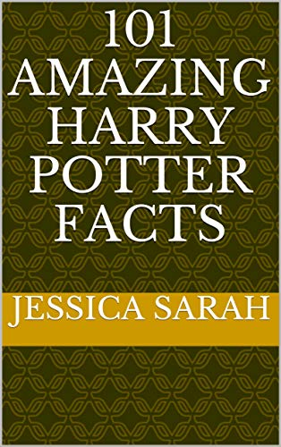 Pdf Graphic Novels 101 AMAZING HARRY POTTER FACTS