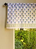 Moonlit Taj (CP) ~ Exotic Turquoise Beaded Window Valance 46×17 Review