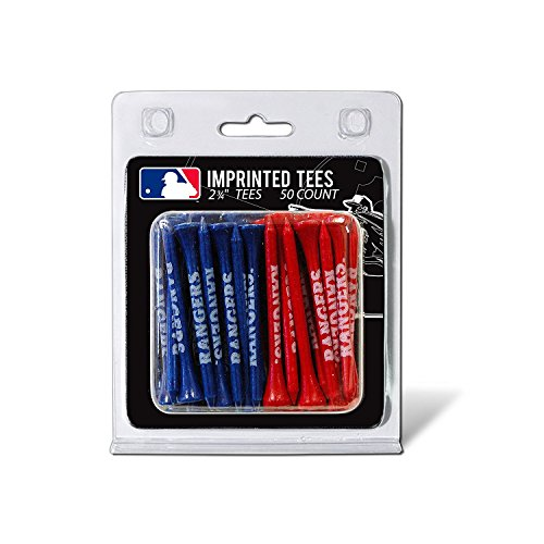 MLB Texas Rangers Pack Of 50 Golf Tees Texas Rangers Mlb Wood