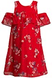 Truly Me Summer Dresses (Many Options), 4-6X, 7-16 (7, Red Multi)