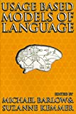 img - for Usage Based Models of Language book / textbook / text book