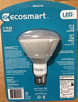 75W Equivalent Soft White (2700K) BR30 Dimmable LED Light Bulb