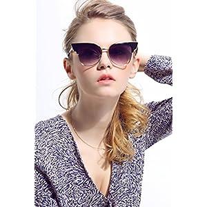 Diamond Candy Women's Fashion Sunglasses UV Protection Sexy Eyewear UV400 Goggles 5Black