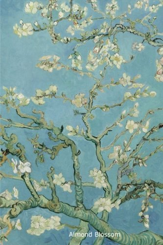 Almond Blossom: Lined journal / notebook, 160 pages, 6 x 9 inch (15.24 x 22.86 cm) Almond blossom, Vincent van Gogh