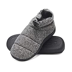 Pamper Your Feet With The Hanes Men's Memory Foam House Slipper With Fresh Iq Odor Protection Technology. Hanes Slippers Feature A Durable, Slip Resistant Rubber Sole Great For Indoor And Outdoor Use. The Plush Fleece Lining Will Keep Your Fe...