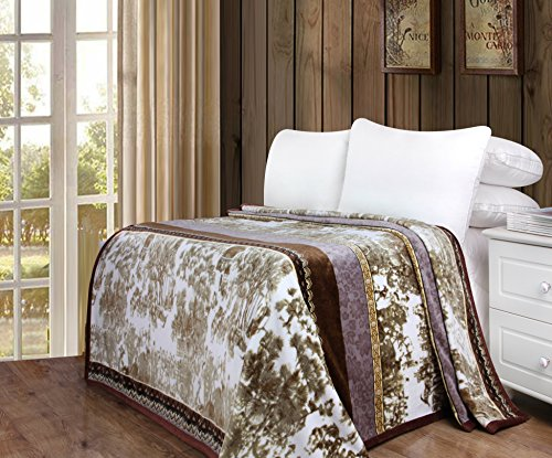 DaDa Bedding Soft Warm Whispering Twilight Fleece Flannel