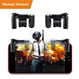 PUBG Mobile Game Controller, Rademax Sensitive Shoot and Aim Buttons L1R1 for Knives Out/PUBG/Rules of Survival, Cellphone Survival Game Controller PUBG Mobile Game Joystick for Android IOS iPhone Review
