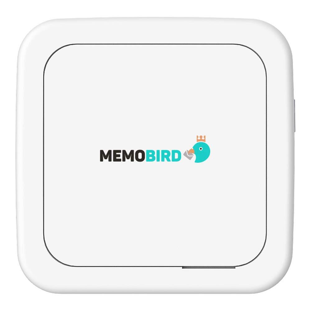 SUNSHAN HD Wireless Portable Instant Printer, Thermal Printer, Mobile Photo Mini WiFi Bluetooth Printer, Instant Print Social Media Photos, Black and White Mini Photo Printer