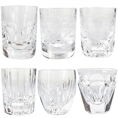 Baccarat BACCARAT Everyday Everyday Shot Glasses Set of 6 2810874 [parallel import goods] - Versaci Glasses