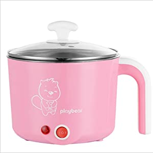 Rice Cooker 1.2L Mini Rice Cooker, Multi-function Stainless Steel Electric Cooker,Suitable For 1-2 People-For Student,Office Worker,Baby,Home,Travel (Color : C)