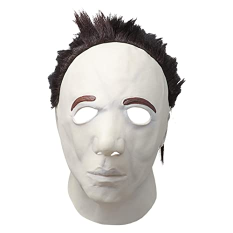 Supmaker Látex Scary Michael Myers Halloween Máscara Horror ...