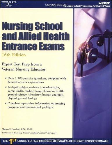 Nursing School And Allied Health Entrance Exams Academic Test
