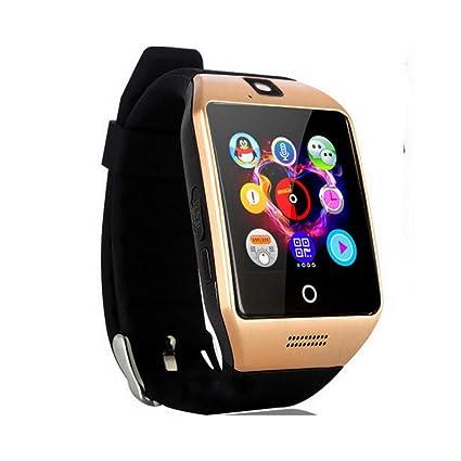AUOKP Bluetooth Smart Watch Men con Pantalla táctil Cámara Grande ...