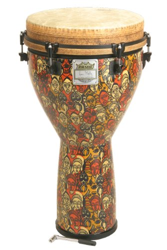 Remo Djembe, Key-Tuned, Multi-Mask, 12-by-24-Inch (Package Of 3)