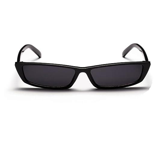 f6b70fe9d1 Olivia Retro Vintage Narrow Sex Cat Eye Sunglasses for Women UV400  Protection Sun Glasses Black
