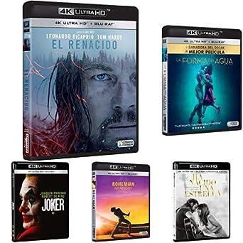 Pack Ganadoras de Oscar - Incluye: El Renacido + La Forma del Agua ...