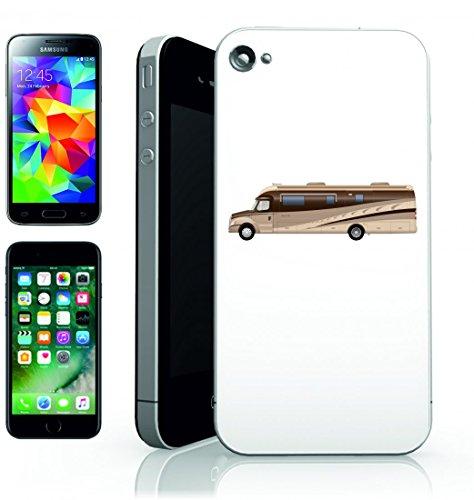 Smartphone Case mobil home-veicolo camper campeggio roulotte della guida di auto di vacanza per Apple Iphone 4/4S, 5/5S, 5C, 6/6S, 7& Samsung Galaxy S4, S5, S6, S6Edge, S7, S7Edge Huawei HTC–D