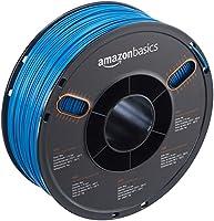 AmazonBasics ABS 3D Printer Filament, 1.75mm, Blue, 1 kg Spool by AmazonBasics