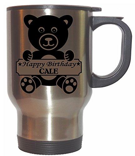 Happy Birthday Cale Stainless Steel Mug