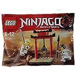 Lego - Set promozionale Lego Ninjago raffigurante il bersaglio per l'allenamento Wu-Cru, cod. art. 30530(insaccato). LEGO