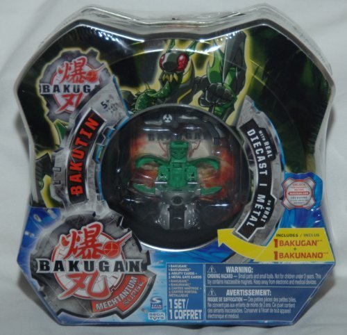 Bakugan Bakutin Mutant Elfin (Colors and Styles May Vary)