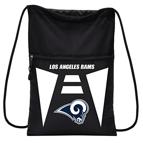 (Officially Licensed NFL St. Louis Rams Team Tech Backpack Backsack, One Size)