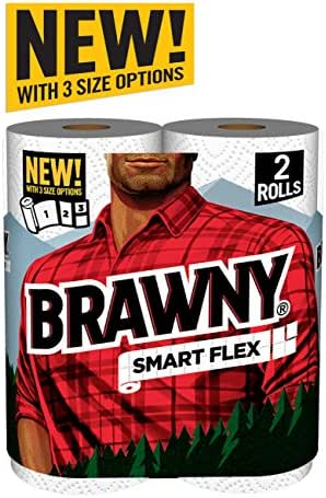 Paper Towels: Brawny Smart Flex