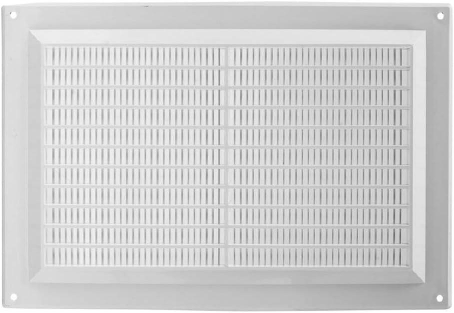 color blanco 250 x 170 mm, 25 x 17 cm, pl/ástico ABS Rejilla de ventilaci/ón