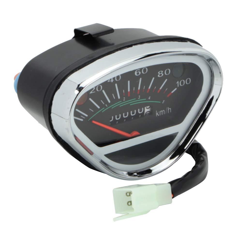 Aramox Bike Speedometer Speedometer Odometer Fit for Honda DAX Bike CT70 Bike 100km//h