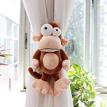 VisvimQ 2 pc Cartoon animaux rideaux Retenues Couleur : A Rideau Embrasses Corde for b/éb/é Enfants Nursery D/écoration Fen/être Traitement VisvimQ