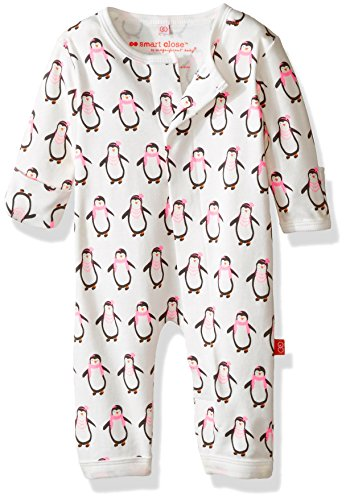 Free Magnificent Baby Boys' Magnetic Party Penguin Coverall