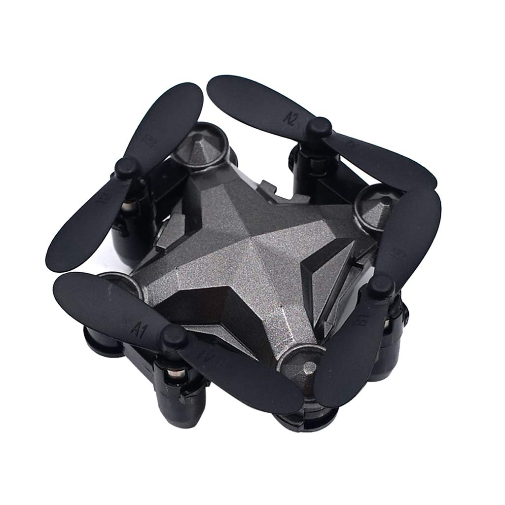 EAPTS Mini Drone Luggage Folding Quadcopter Remote Control Real-time 480P Camera