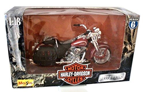 Maisto Harley Davidson FLSTS Heritage Springer 99 Die cast Motorcycle 1:18 scale Series 6 - Heritage Springer Diecast Motorcycle
