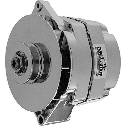 Tuff Stuff 7127NB Chrome 80 Amp 1-Wire Alternator with Internal Regulator for GM