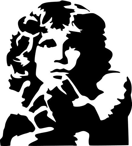 Jim Morrison Rock Band Vinyl Decal Sticker- 6