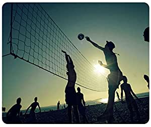 Beach Volleyball Mouse Pad, Customized Rectangle Mousepad by iCustomonline