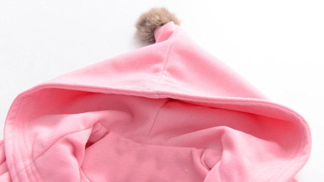 Autumn Winter Kids Child Girls Coat Cute Warm Long Sleeve Coat Amiley baby girl clothing Coat