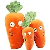 Creative Cute Carrot Pillow Cushion Plush Toy Soft Stuffed Animal Doll Christmas Gifts,happy