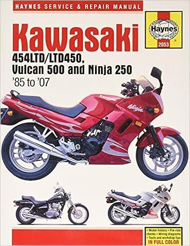 Kawasaki En 450 /& 500 Twins 1985 to 2004 454cc Owners Workshop Manual 498cc